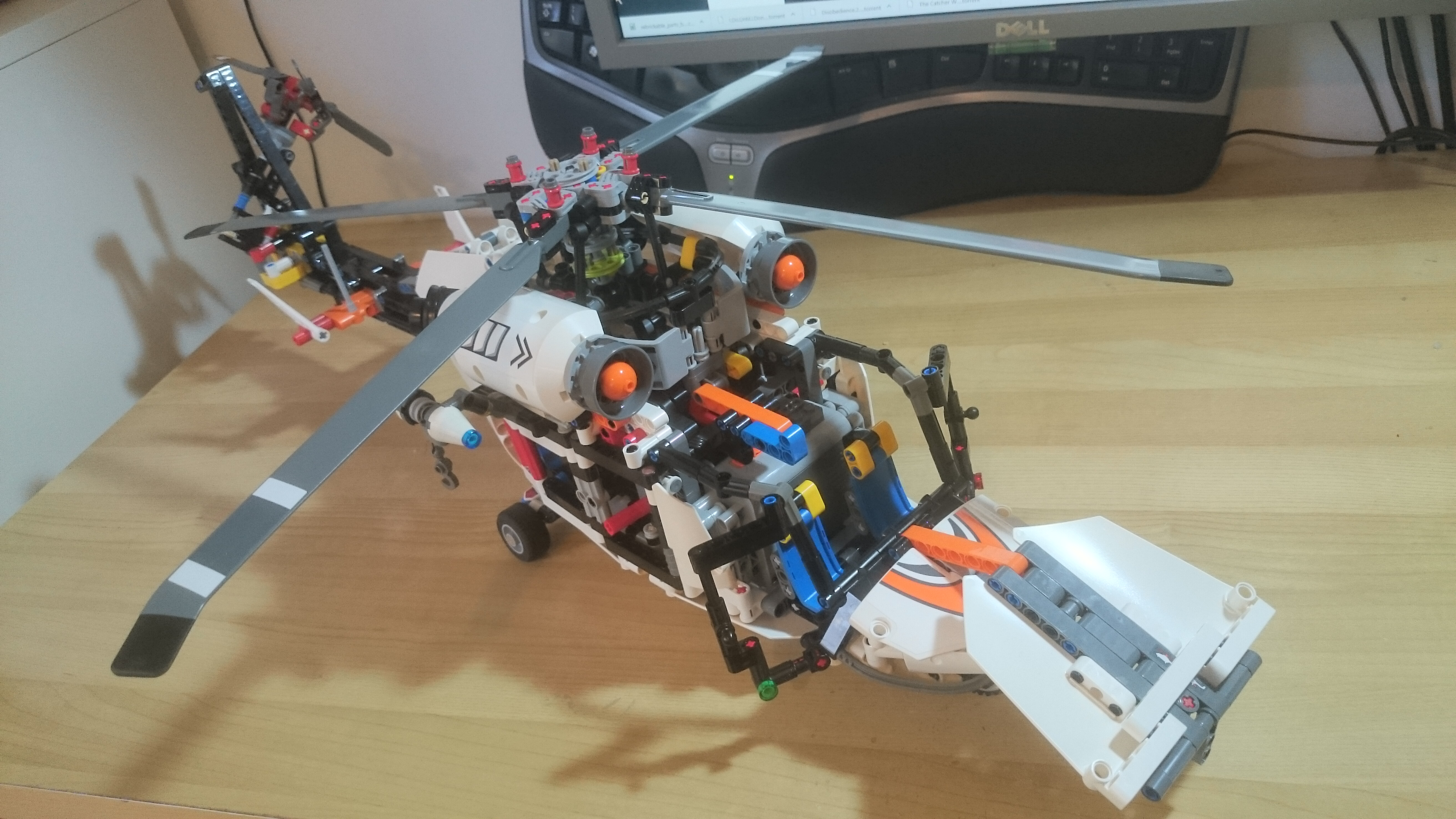 LEGO MOC-12600 AW 169 Helicopter (Technic > Model