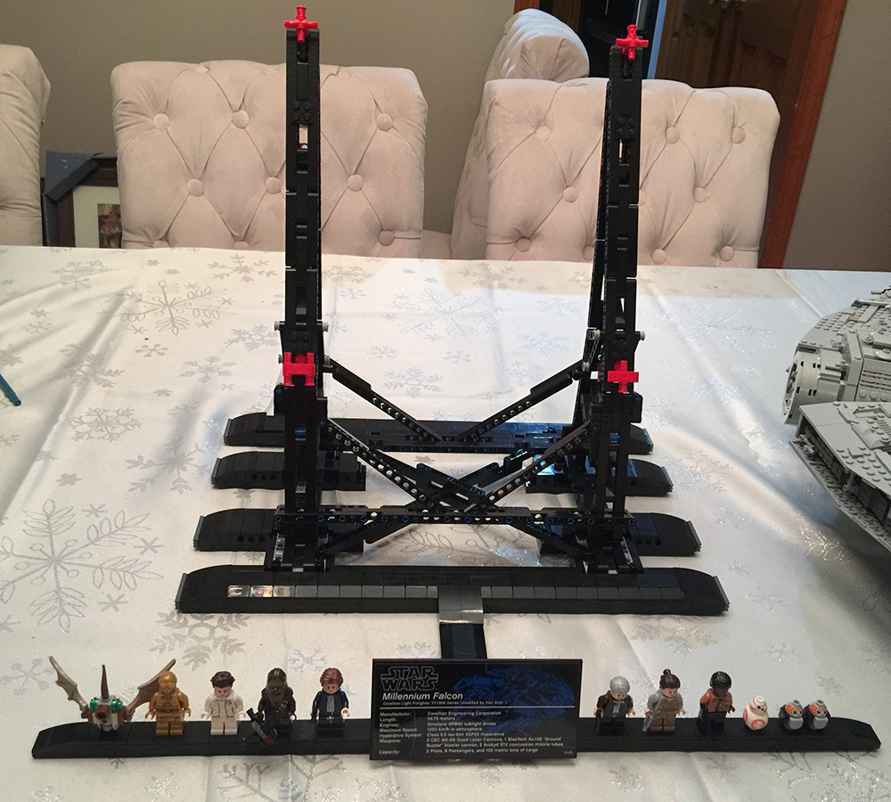 Lego Moc 10219 Efferman S Vertical Stand For Millennium