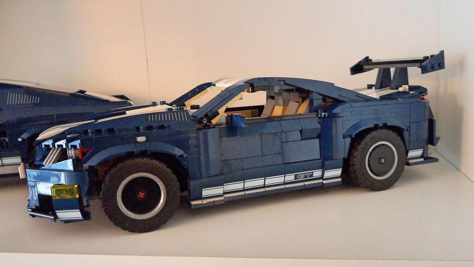 LEGO MOC-32898 10265 Mustang Shelby GT500 B model (Cars ...