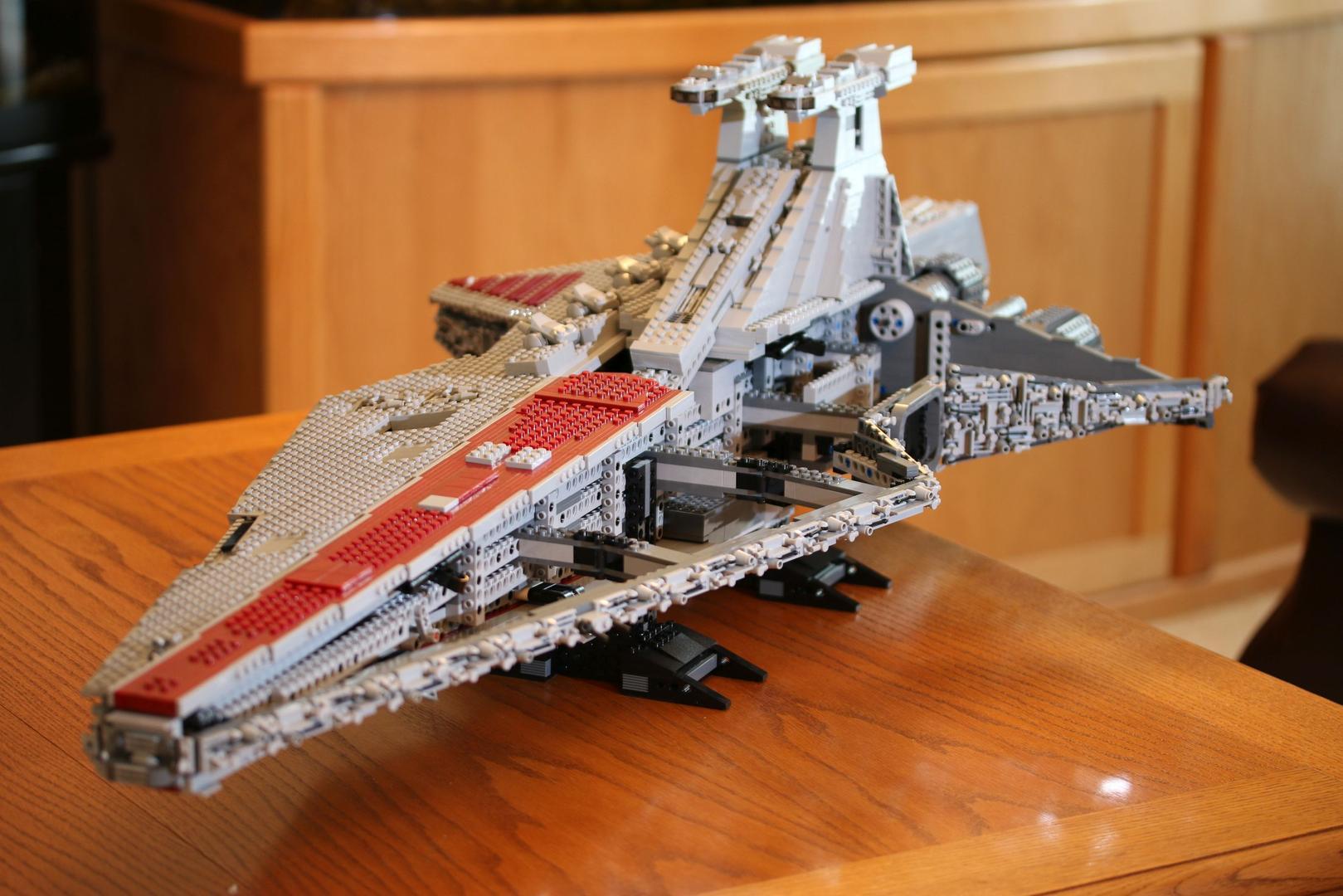 Lego Moc 0694 Ucs Venator Star Destroyer Star Wars Ultimate