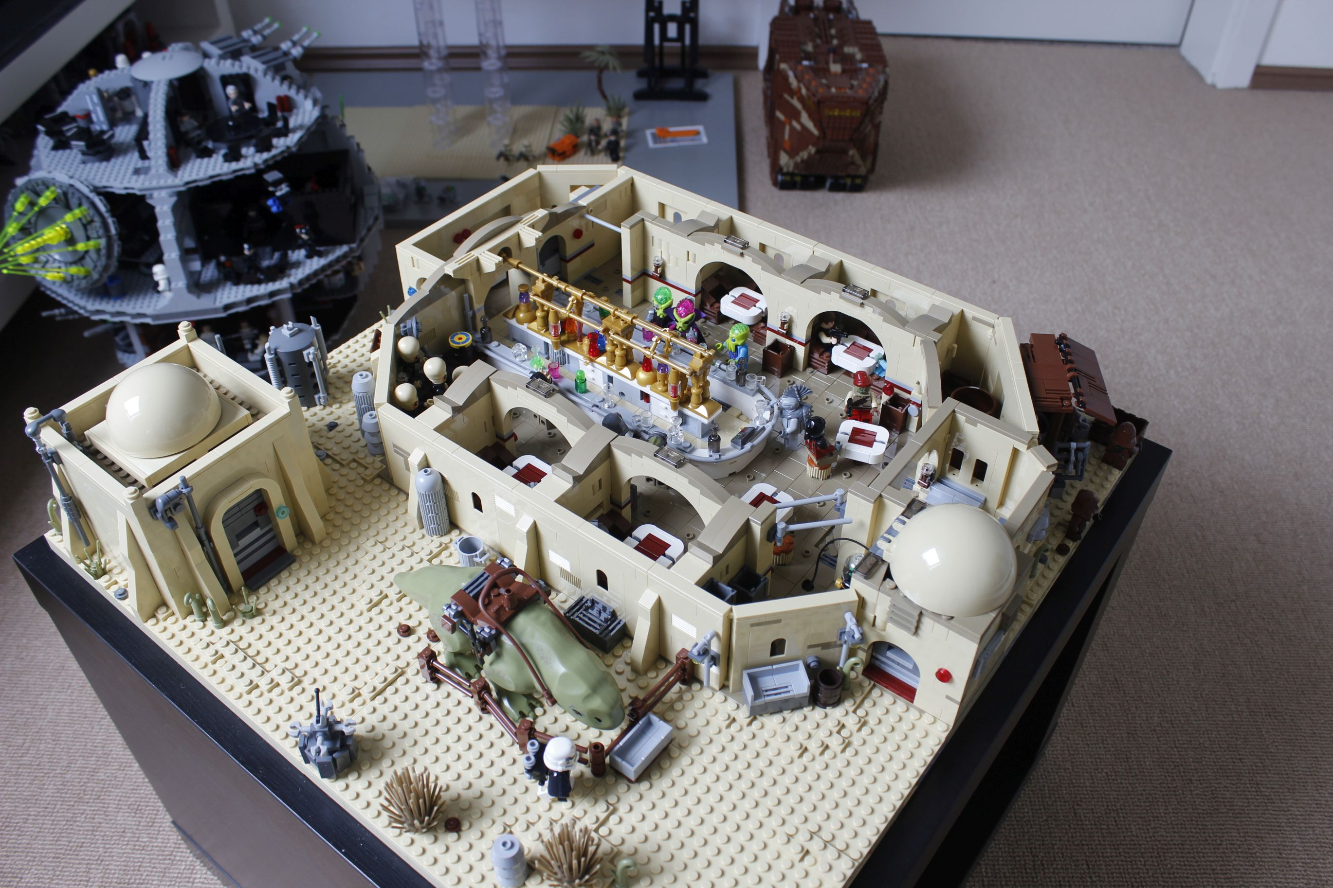 lego star wars mos eisley cantina instructions
