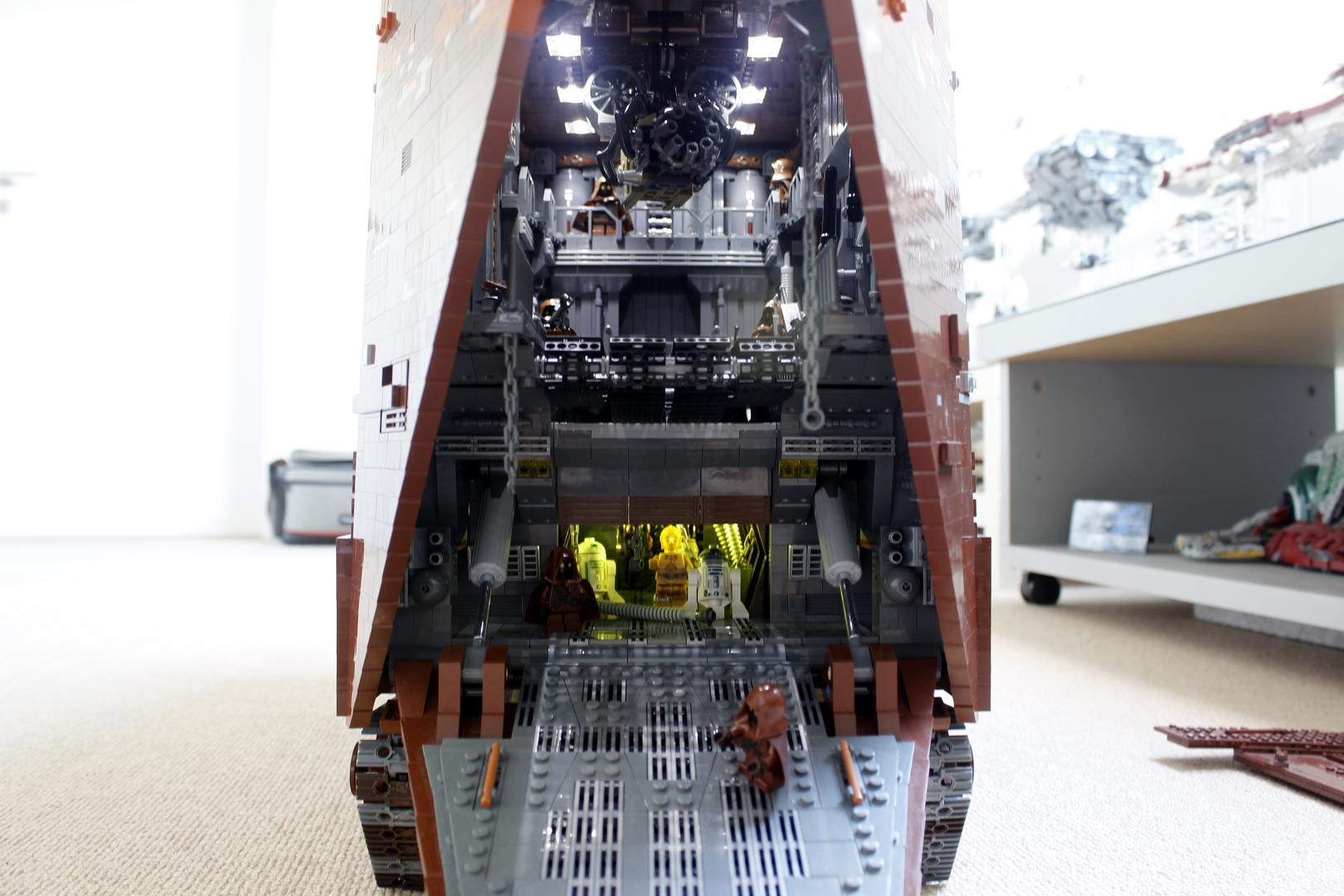 Lego Cavegod UCS Sandcrawler Instructions