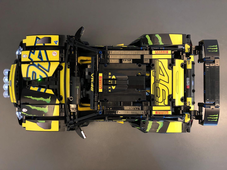 Lego Moc 13732 Technic 42077 Rally Car 2wd Remote Control Mod