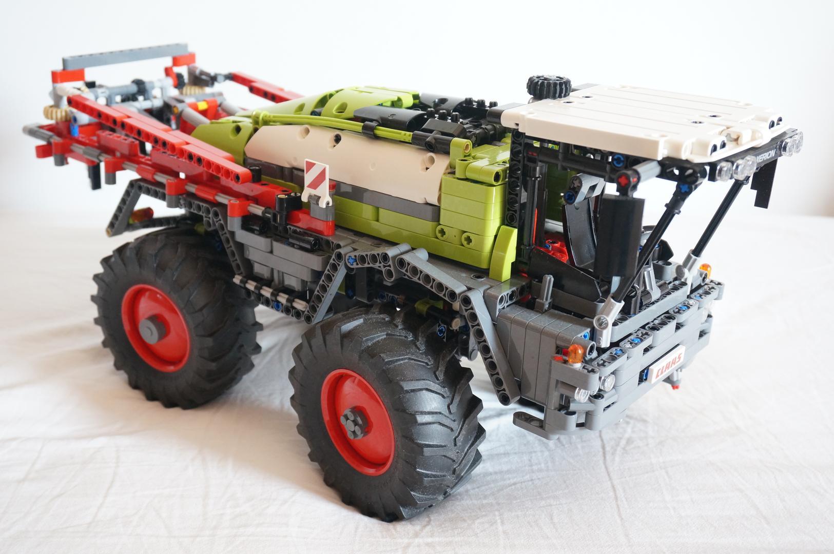 TECHNIC MOC-9356 Crop Sprayer | 42054 C Model by BrickbyBrickTechnic MOCBRICKLAND