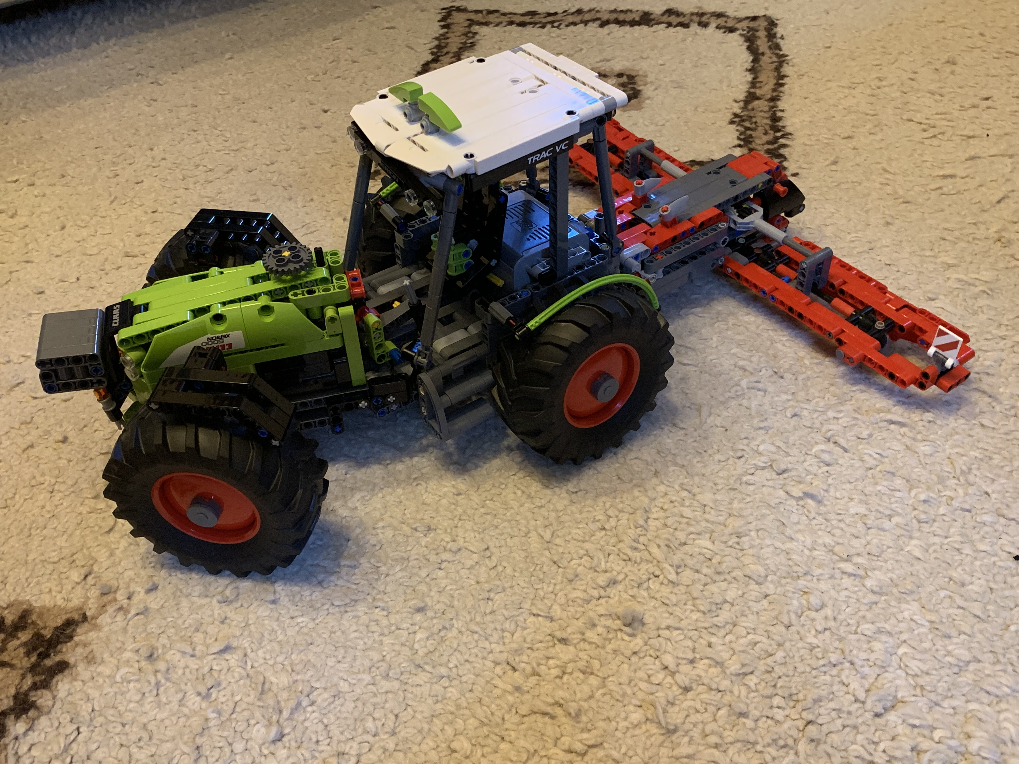 TECHNIC MOC-13581 2-Stage Tractor | 42054 C Model by BrickbyBrickTechnic MOCBRICKLAND