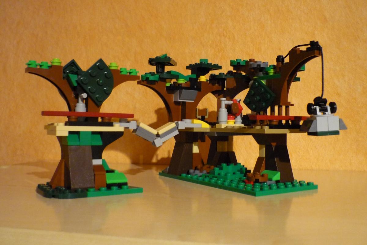 Lego Moc 8965 Ewok Village Star Wars Mini Star Wars Episode 45