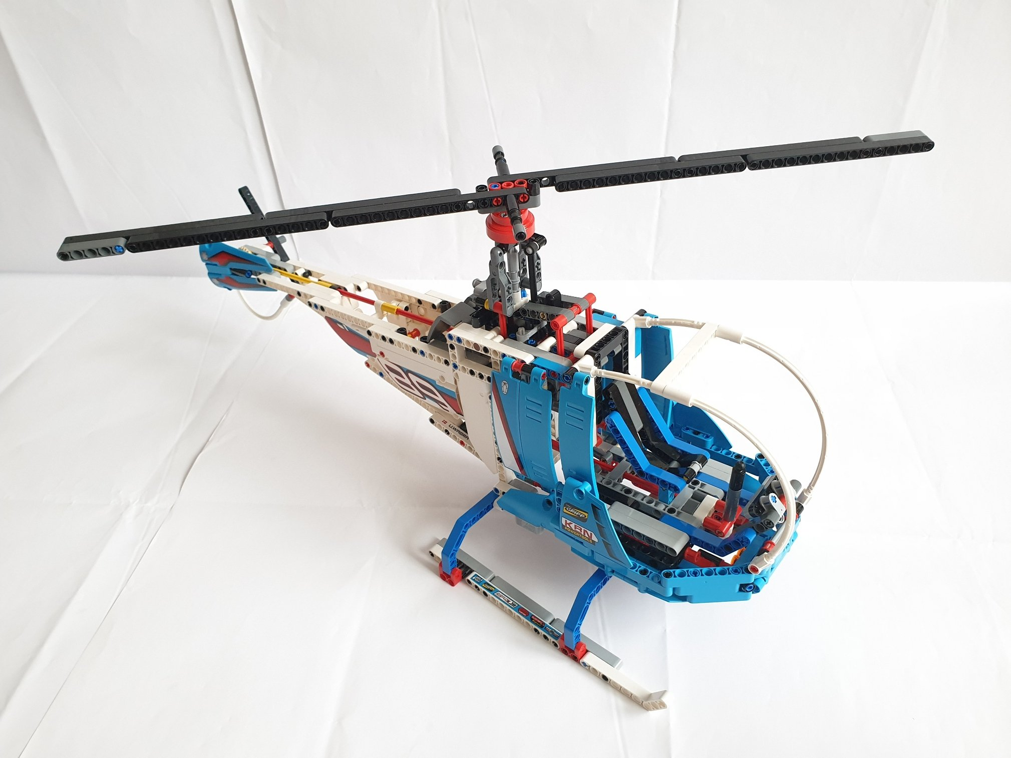 Moc 24128 42077: nighthawk helicopter by tomik