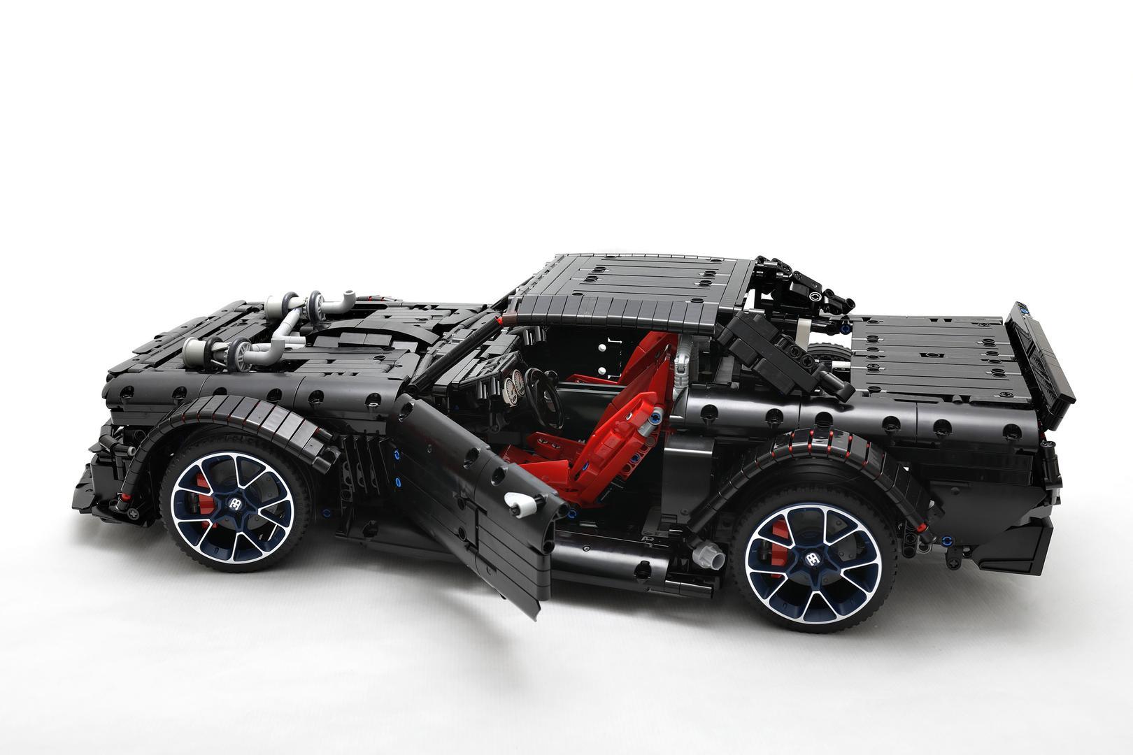Hoonigan Mustang Lego Instructions