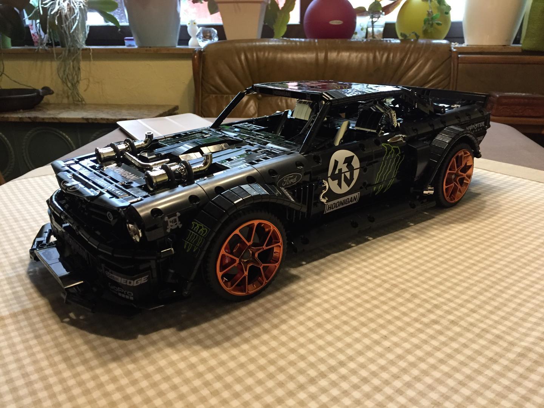 Hoonigan Mustang Lego