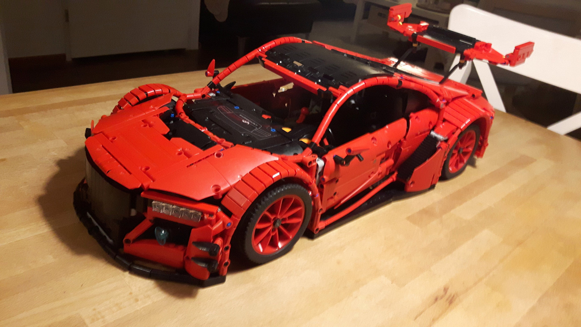 2017 Acura Nsx For Sale >> LEGO MOC-10858 Acura NSX GT3 Bodywork (Technic > Model ...