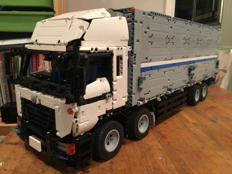 Lego Technic Bauanleitung Wing Body Truck