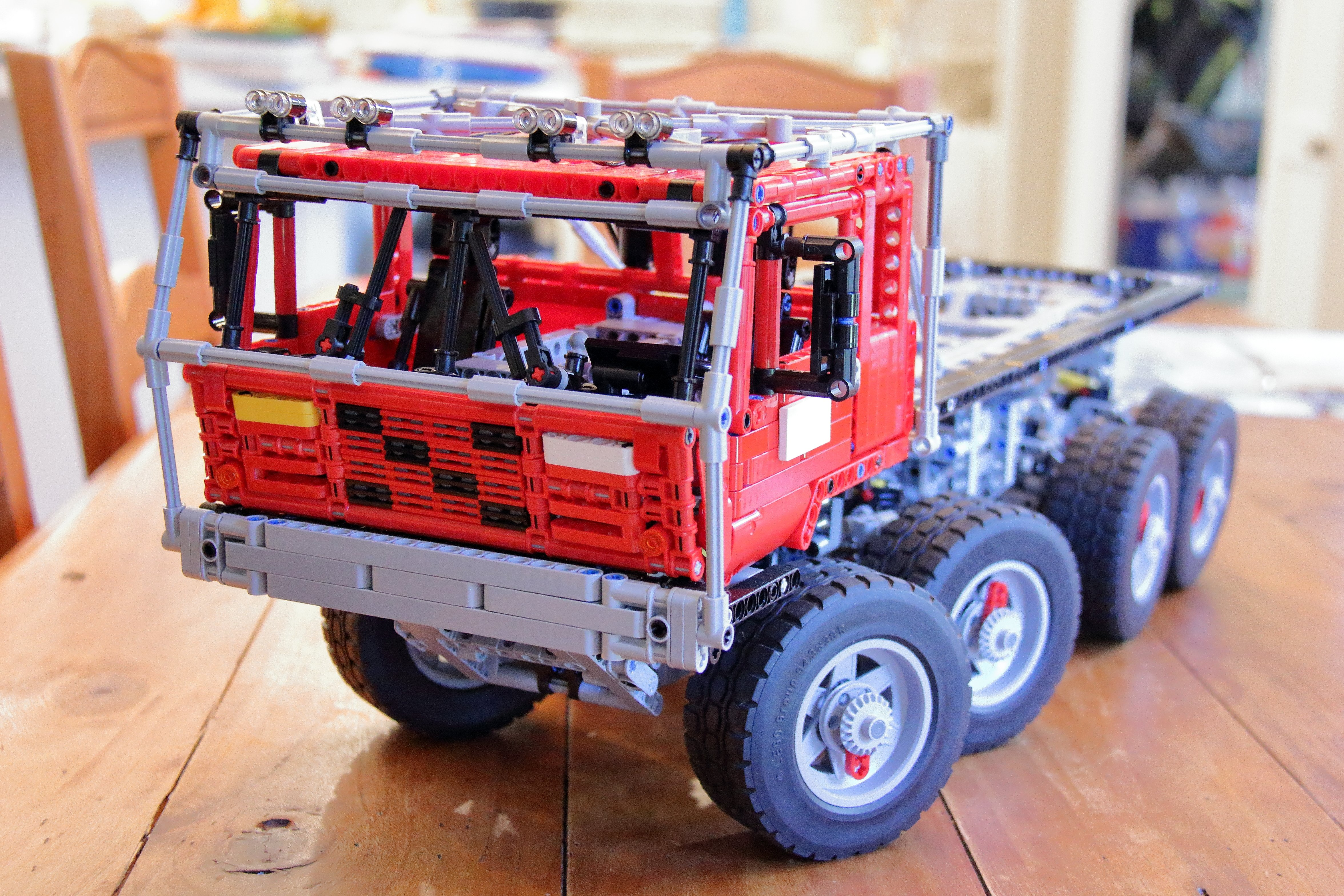 lego trial truck instructions