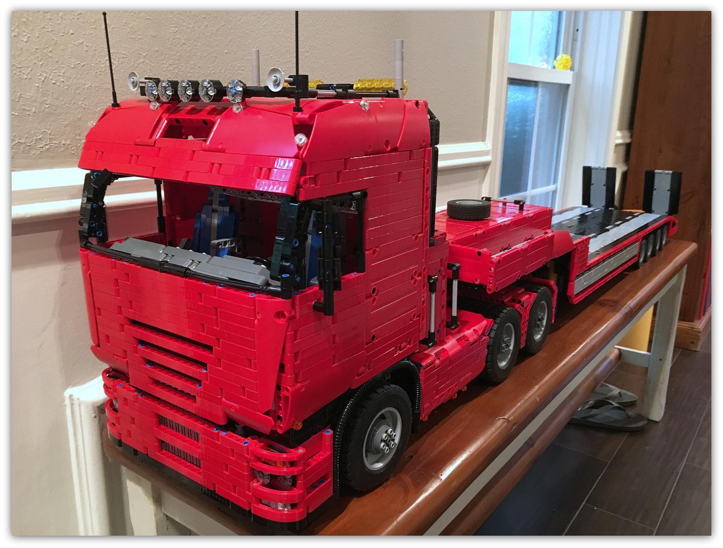 Lego Moc 2475 Tractor Truck Technic Gt Model Gt Traffic