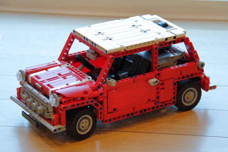 lego mini cooper instructions