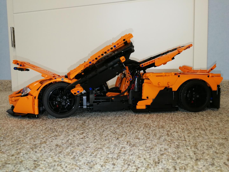 Lego Moc 16915 Mclaren P1 Hypercar 18 Manual Version Only