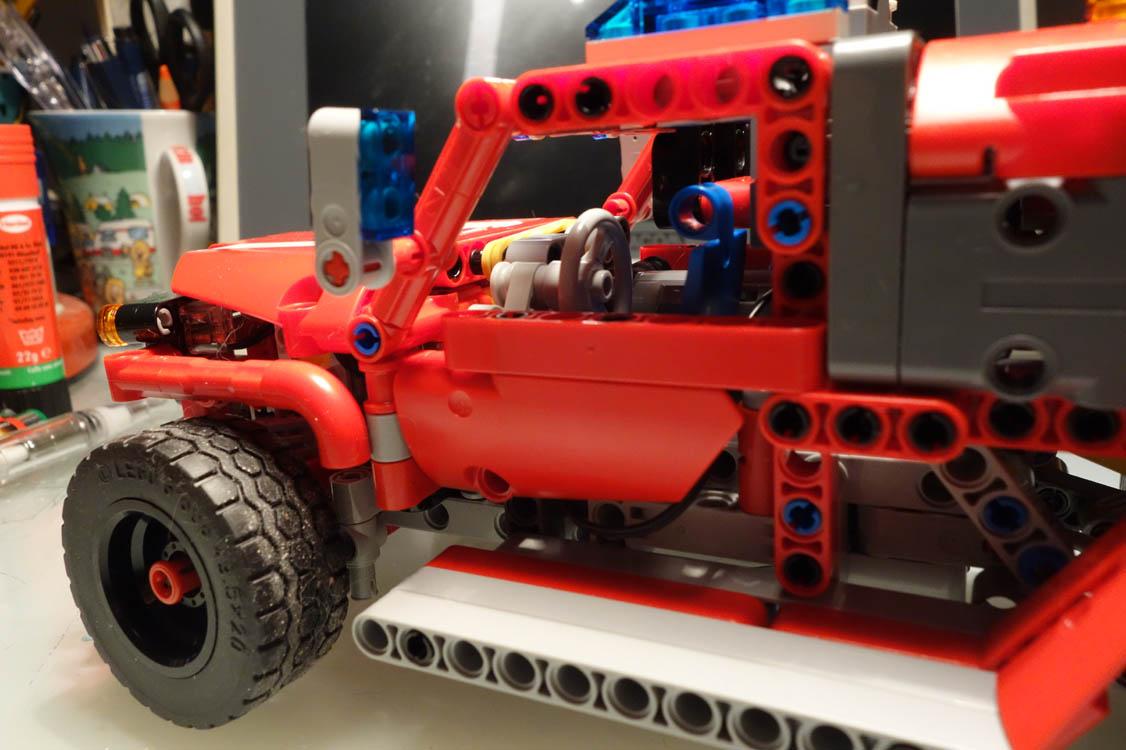 Lego Moc 14312 Technic 42075 First Responder Rc Mod Technic 2018