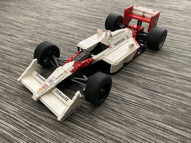 Lego Mclaren Mp4 6 Formula 1 F1 Race Car Custom Instructions Only