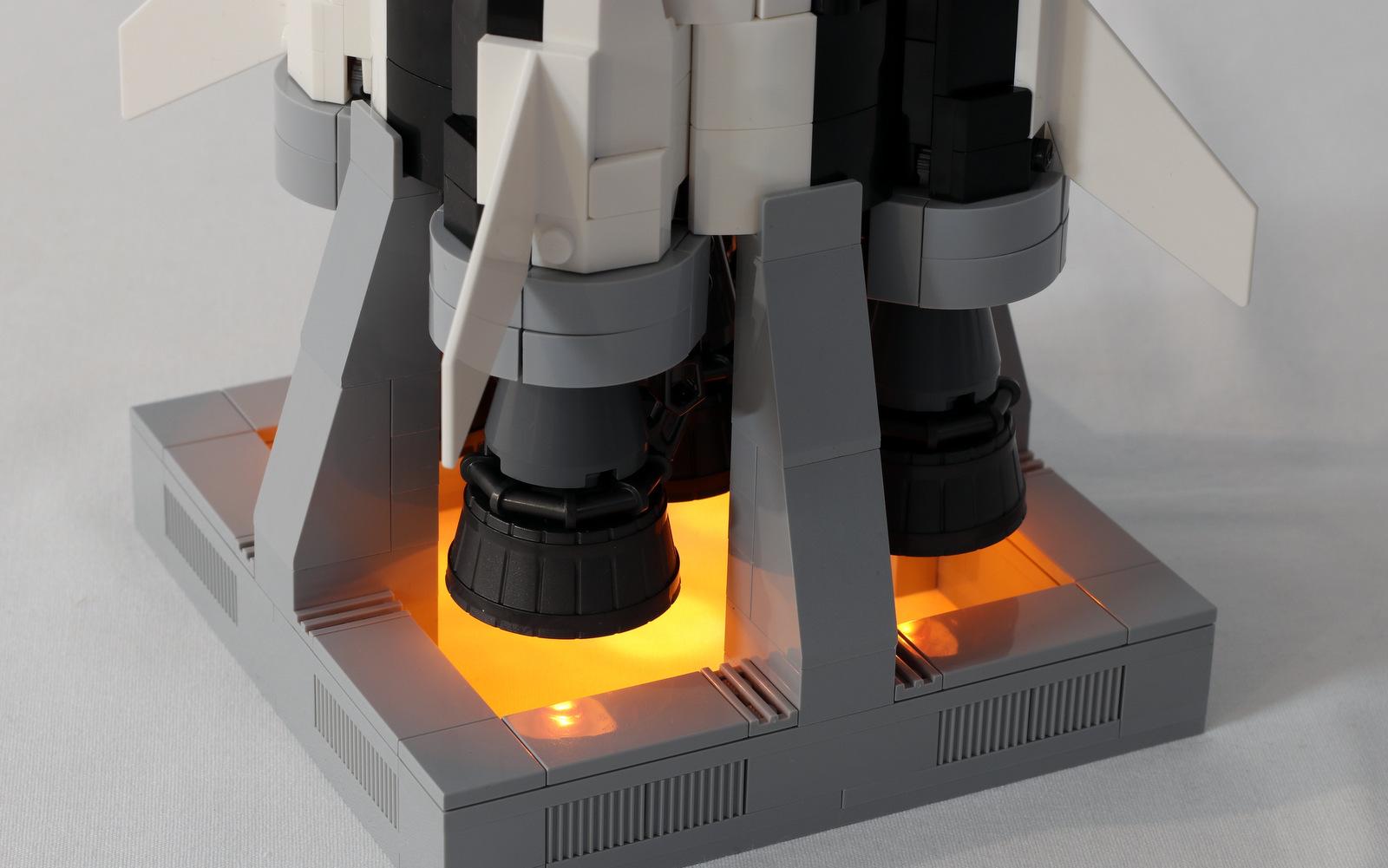 Lego Moc 8497 Saturn V Launch Platform Lego Ideas And