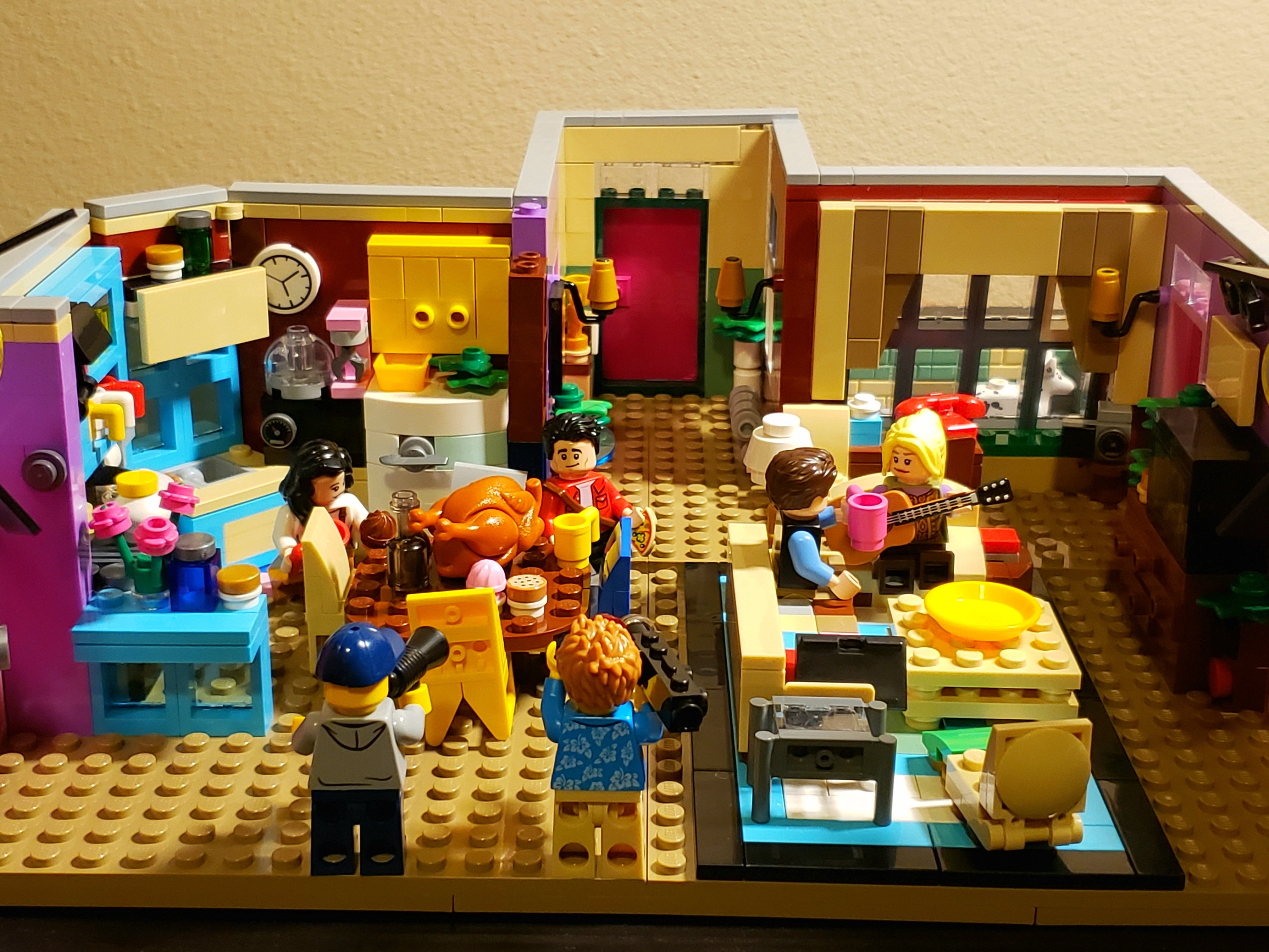 LEGO MOC Friends ~ The Television Series - Monica's ...