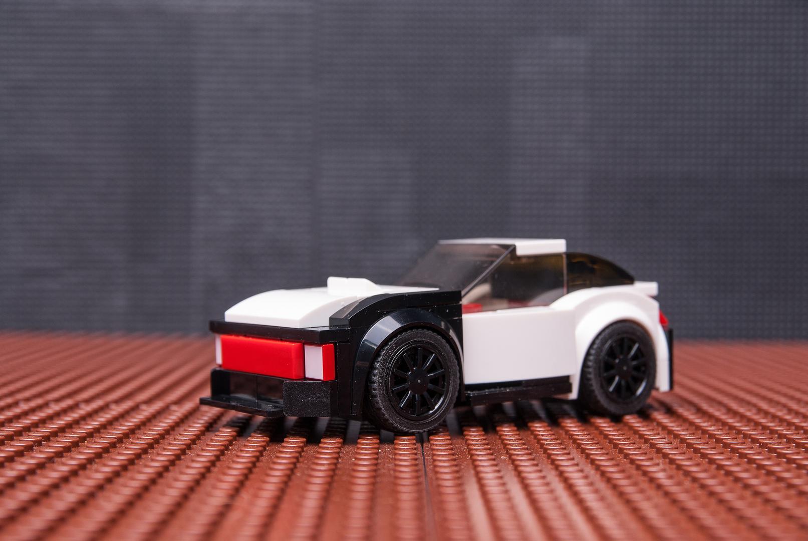 Lego Moc 8517 75873 Drift Car Speed Champions 2017