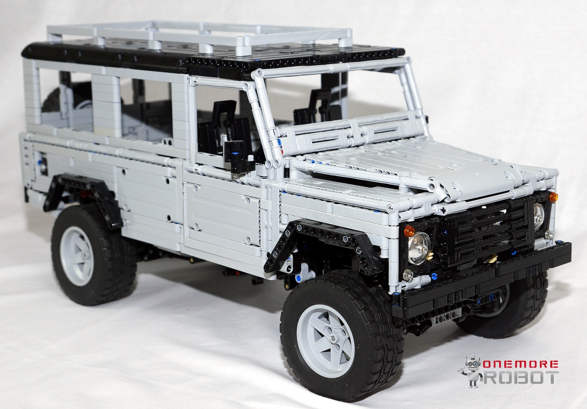 lego moc 0580 land rover defender 110 technic 2012 rebrickable build with lego. Black Bedroom Furniture Sets. Home Design Ideas