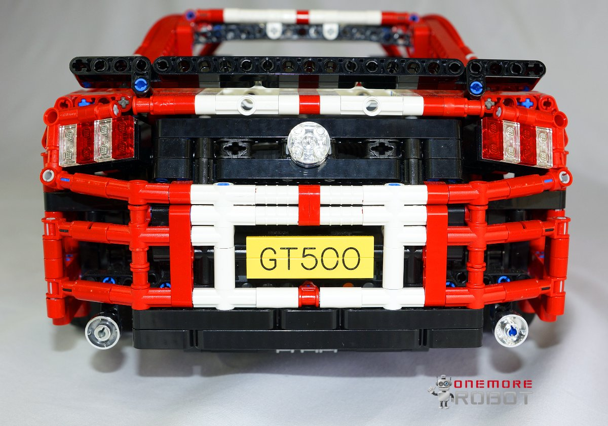 lego moc 1181 ford mustang shelby gt500 manual technic. Black Bedroom Furniture Sets. Home Design Ideas
