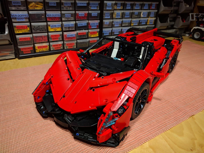 Lamborghini Veneno For Sale >> LEGO MOC-10559 Lamborghini Veneno Roadster - 50th Anniversary (Technic > Model 2017 ...
