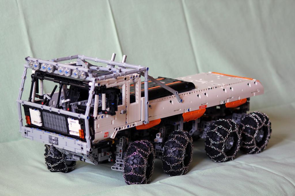 Lego Moc 1963 Tatra 813 Trial Truck Technic 2014 Rebrickable