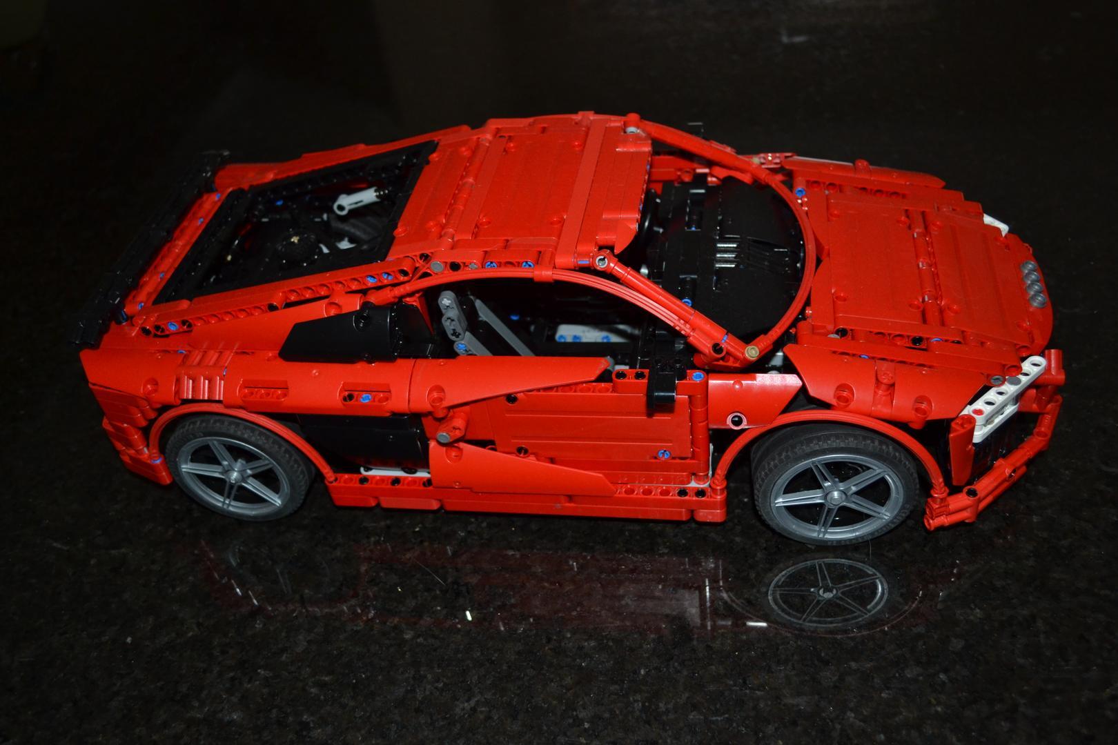 Lego Moc 4463 Audi R8 V10 Second Generation Technic 2016