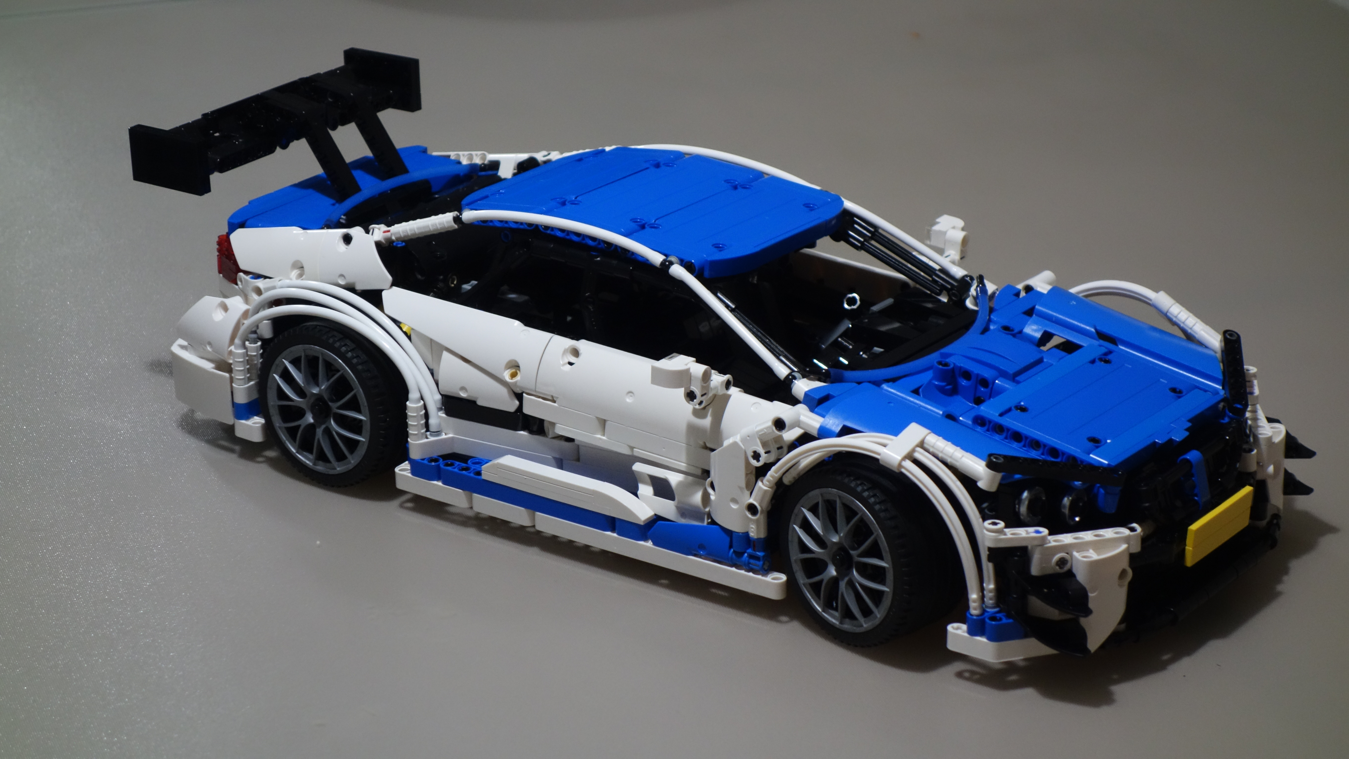 Lego Moc 4339 Bmw M4 Dtm Samsung Technic 2016 Rebrickable