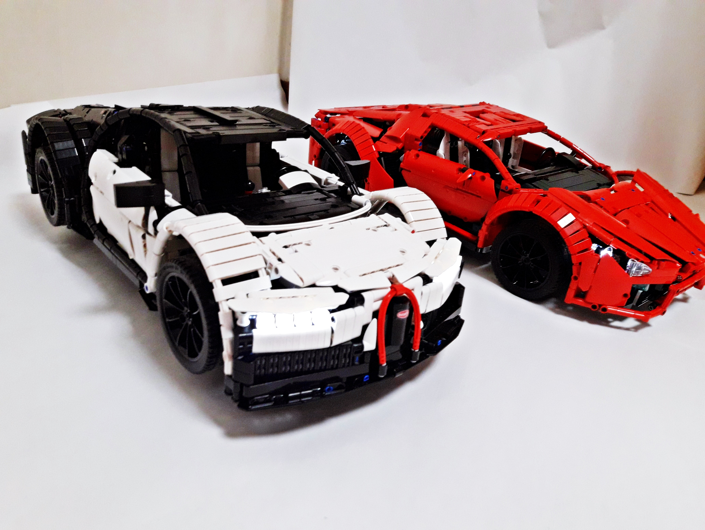Lego Moc 9658 Bugatti Chiron Technic Gt Model Gt Race 2017
