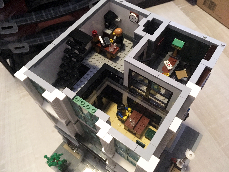 Lego Moc 11737 Brick Bank Extra Floor Modular Buildings