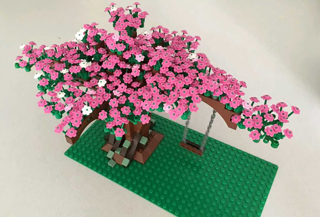 Lego Moc 2358 Cherry Blossom Tree Creator 2014 Rebrickable