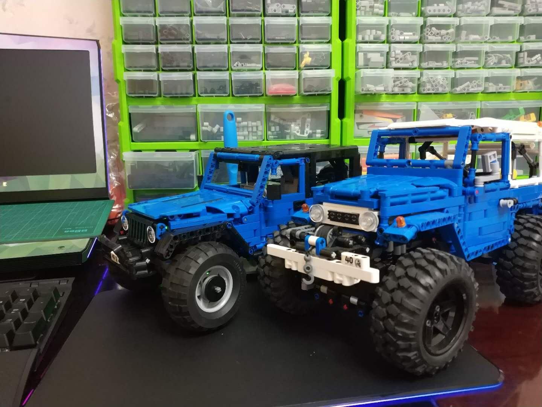lego jeep wrangler instructions