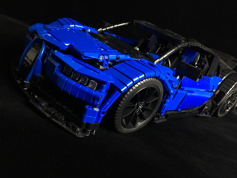 lego moc 9658 bugatti chiron technic model race 2017 rebrickable build with lego. Black Bedroom Furniture Sets. Home Design Ideas