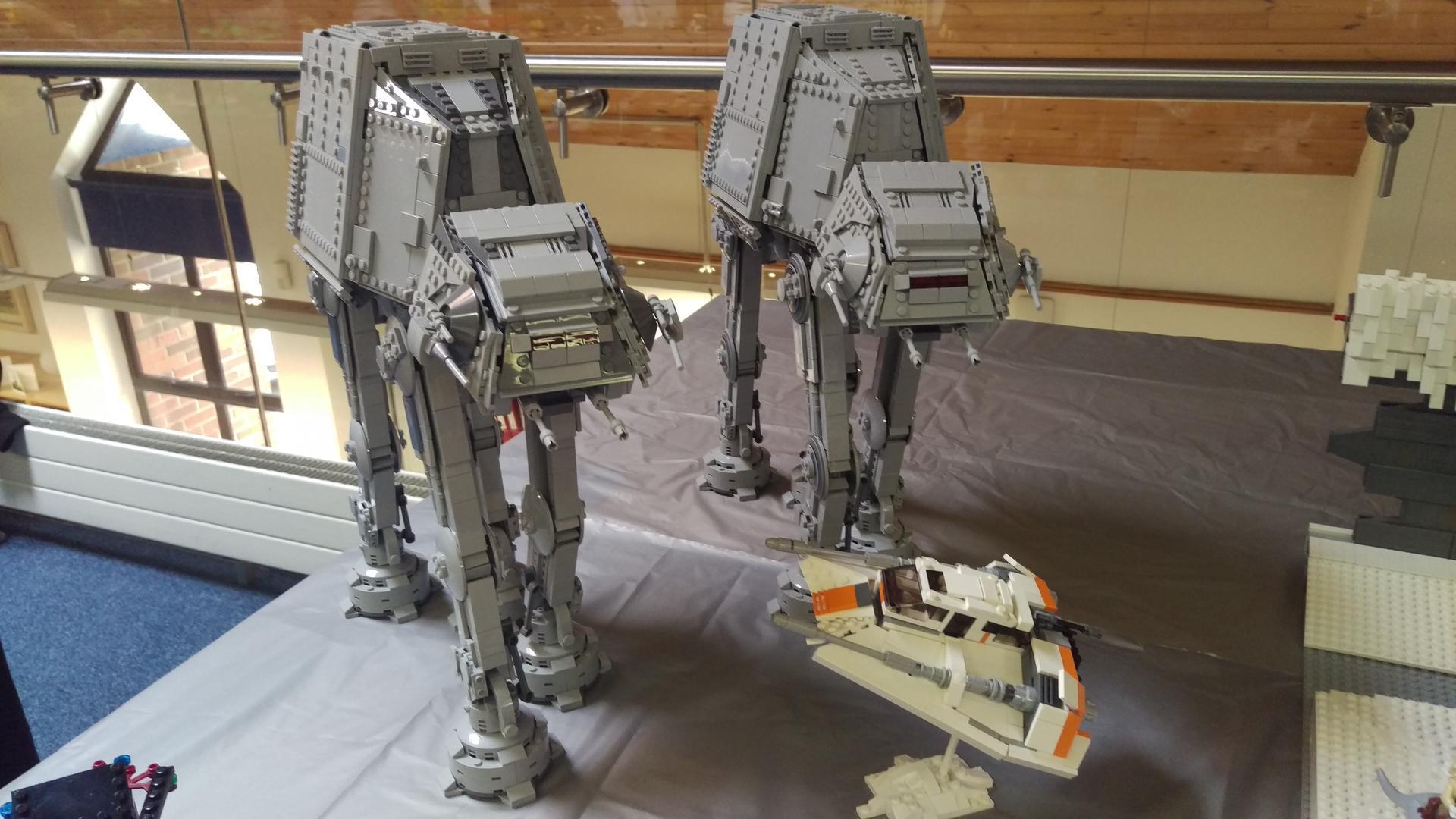 Lego Moc 6006 Plus Size Atat Star Wars 2016 Rebrickable Build
