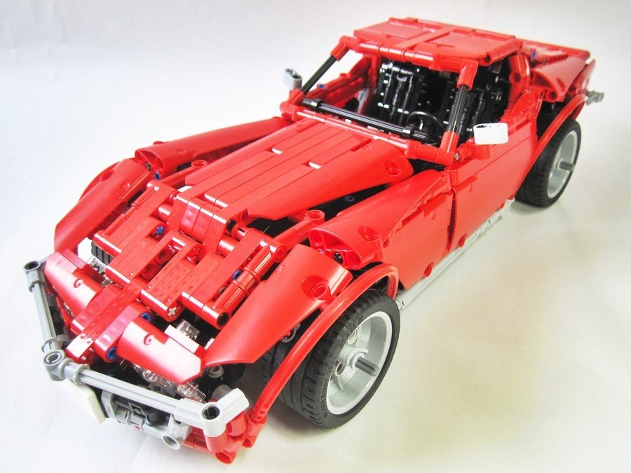 Lego Moc 1757 Corvette C3 Stingray Technic 2014 Rebrickable