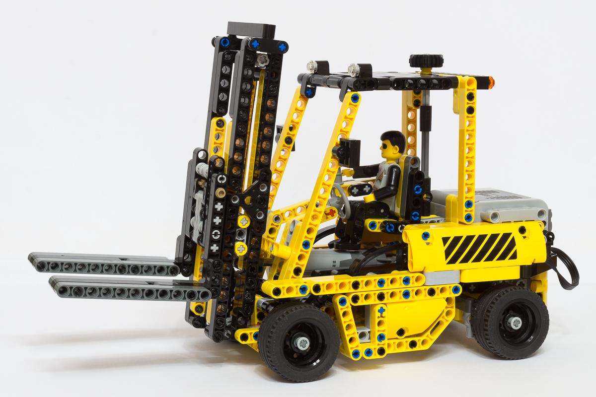 Lego Forklift Building Instructions