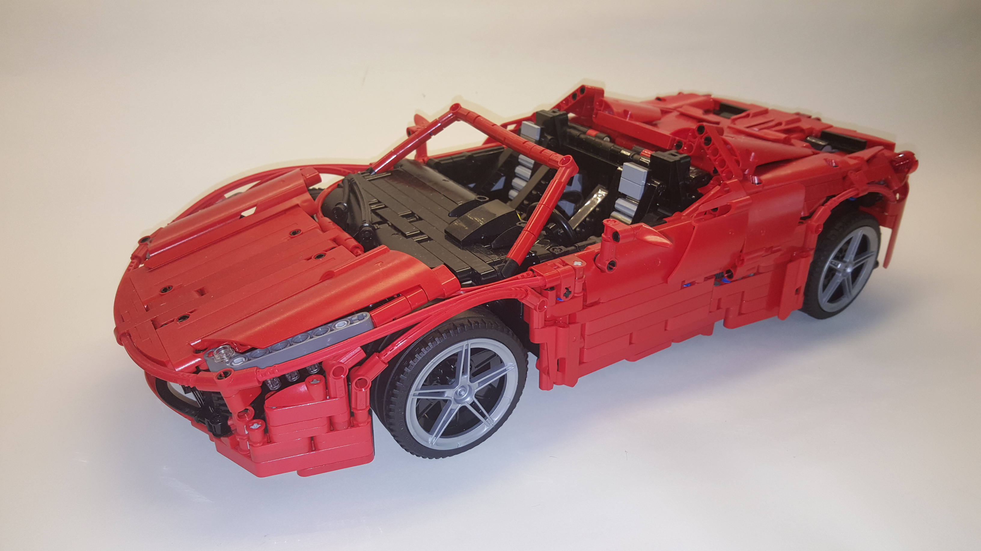 Lego Moc 1767 Red Spider Technic 2014 Rebrickable