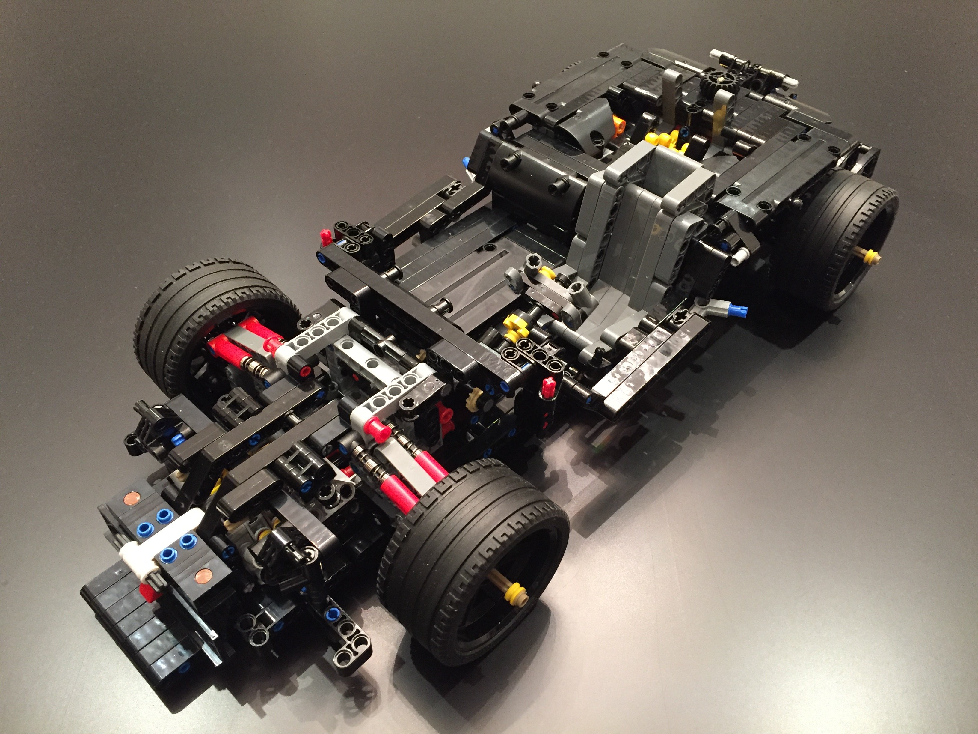 Lego Moc 6667 Mercedes Benz Amg C63 Dtm Manual Chassis Only