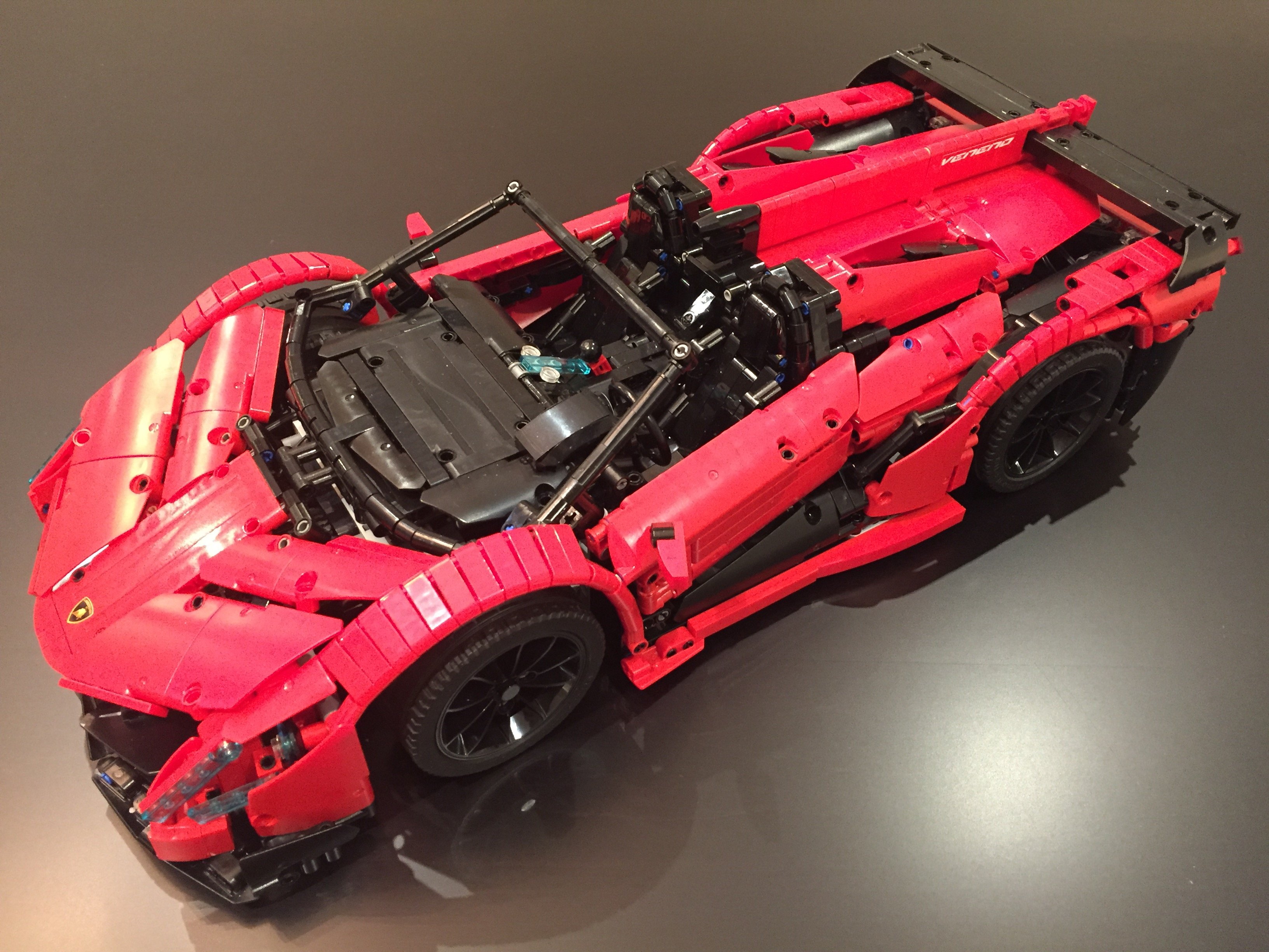 Lamborghini Veneno For Sale >> LEGO MOC-10559 Lamborghini Veneno Roadster - 50th Anniversary (Technic > Model 2017 ...