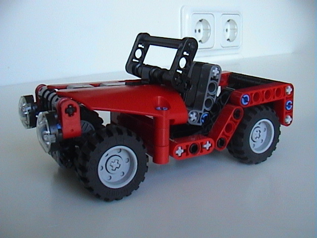 how to build a mini jeep