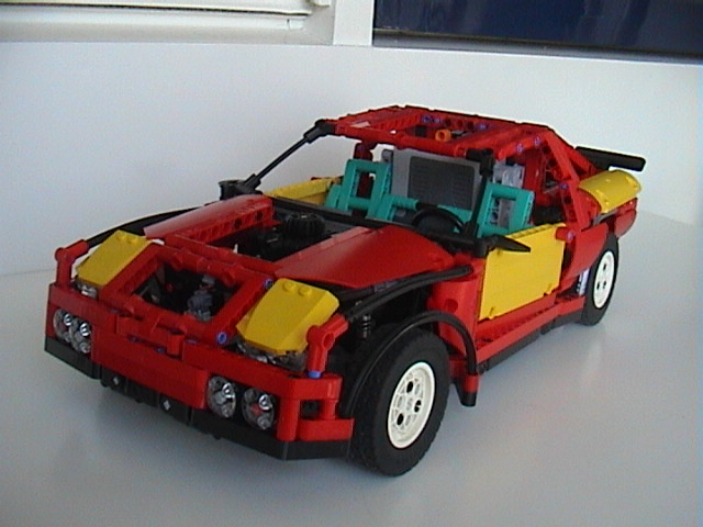 lego moc 0671 rally car technic 2013 rebrickable. Black Bedroom Furniture Sets. Home Design Ideas