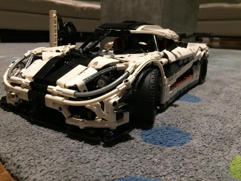 lego moc 4789 koenigsegg one 1 technic 2016 rebrickable build
