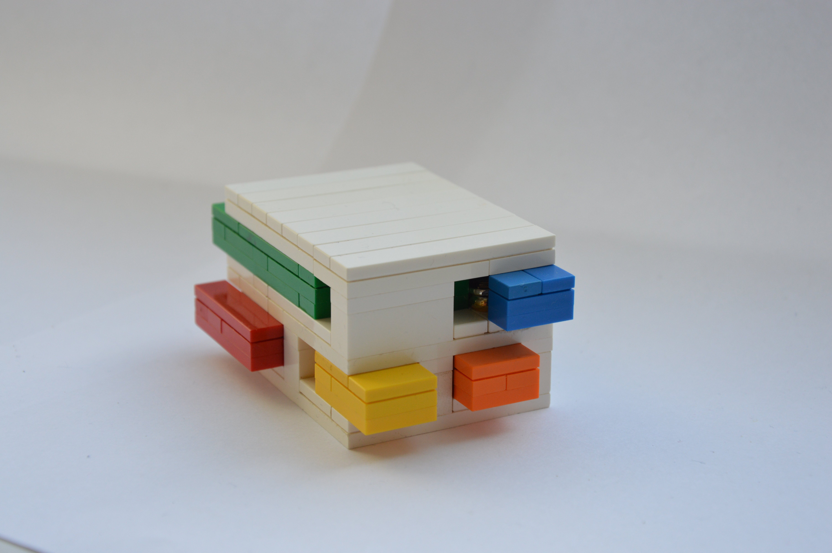 Lego Moc 3023 Lego Puzzle Box Technic 2015 Rebrickable Build