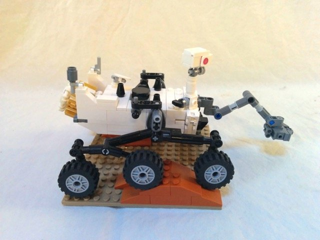 Lego Moc 0271 Mars Science Laboratory Curiosity Rover Space 2011